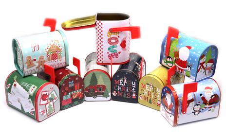 小红旗邮箱铁罐