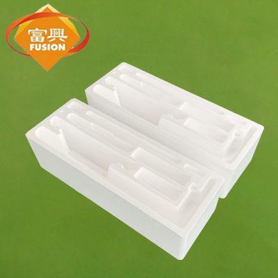 人脸识别显示器内衬EPS泡沫盒 防震保护异形泡沫EPS塑料内衬定制