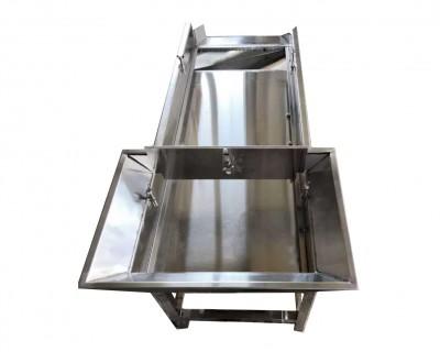 供应新款直线筛 东莞方形振动不锈钢脱水筛 颗粒筛分除尘机厂质保
