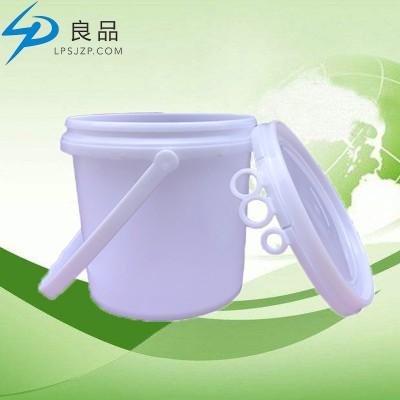 东莞塑料桶食品级环保pp材料涂料桶3L加厚耐磨化工桶乳胶桶厂家