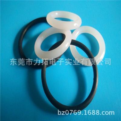 力拓供应 照明硅胶防水圈 黑色NBR橡胶圈 密封 O型防水垫圈