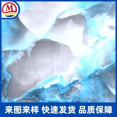 厂家专业提供大理石图案水转印 可来样定制图案水贴加工