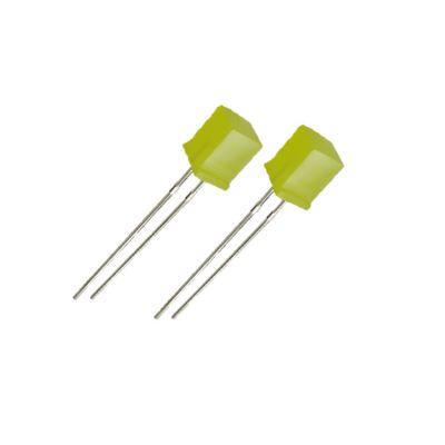 5*5*7方形黄发黄雾状插件led灯珠  指示灯发光二极管可按要求定制