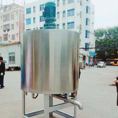 东莞化工液体电加热搅拌罐 化工厂不锈钢搅拌罐