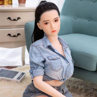 厂家销售158大胸-沐儿实体娃娃 女性模特 成人性爱玩具