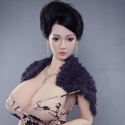 广东成人用品生产商直销170巨乳(硅胶头)硅胶实体娃娃