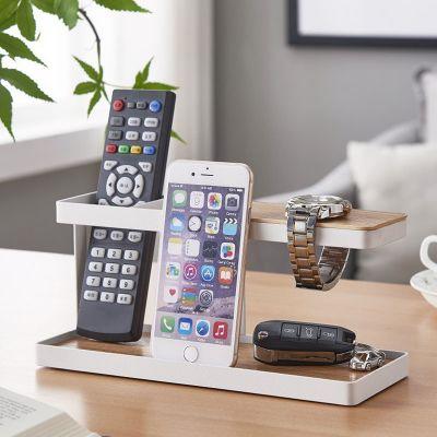 厂家直销日式桌面收纳架 茶几书桌ipad遥控器首饰杂物整理收纳架