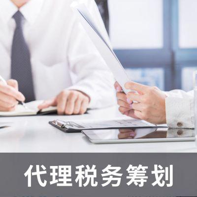 节税筹划 税务规划服务