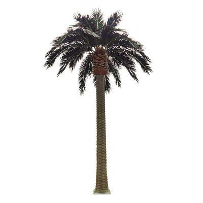 东莞仿真海藻树 棕东海藻树8米定制 景虹仿真植物