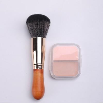 一只装ins超火散粉刷 木柄腮红刷 高档化妆刷 美妆用品 化妆工具