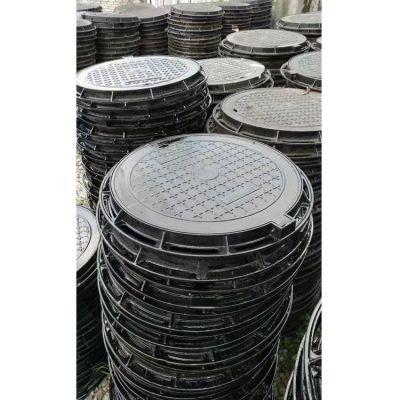 铸铁井盖 圆形球墨铸铁井盖厂家定制批发