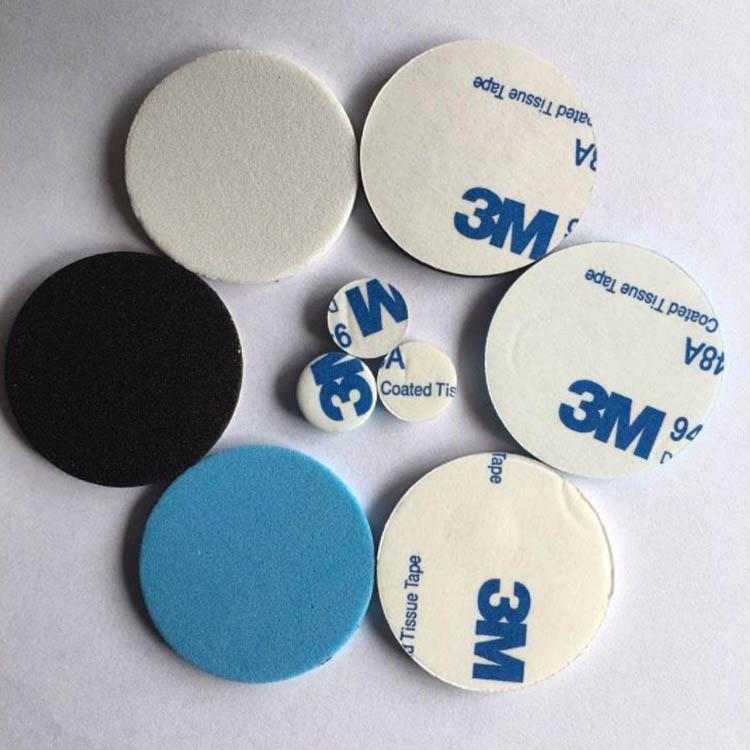 厂家定制黑色圆形EVA脚垫 EVA泡棉胶垫尺寸可选
