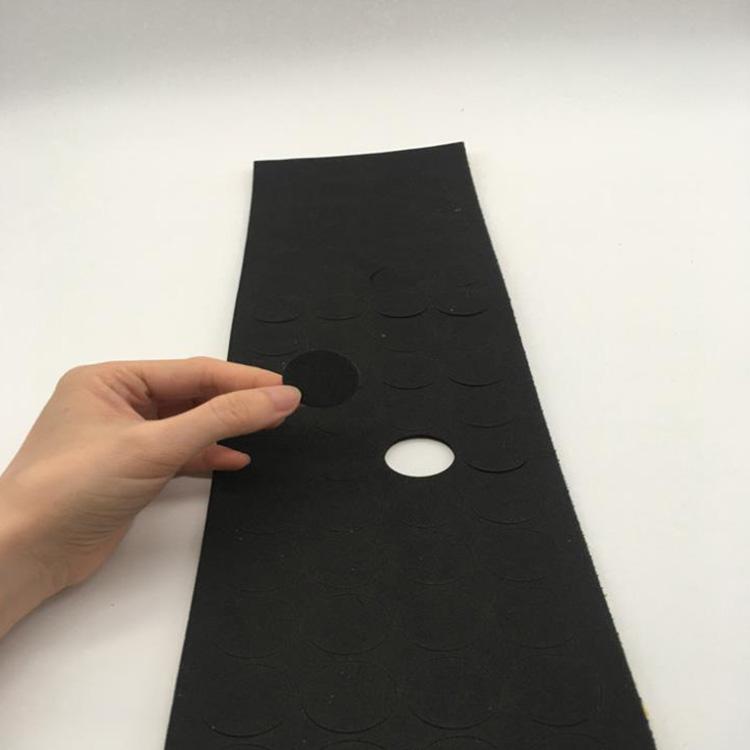 加工定制自粘网格EVA脚垫 格纹防滑海绵垫减震减噪音