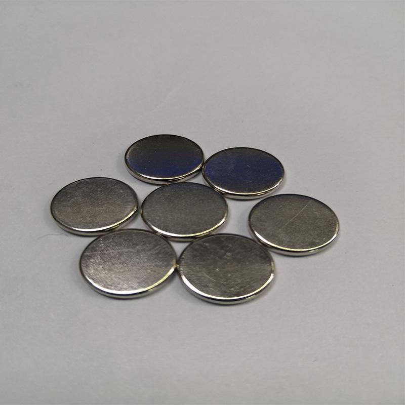 三恩磁铁 烧结钕铁硼圆片磁铁 厂家直供