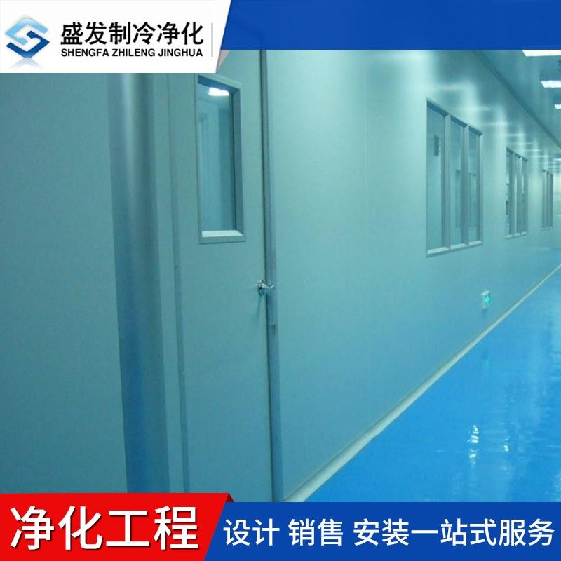 东莞洁净技术专家 千级食品日化净化工程 承接机电设备施工
