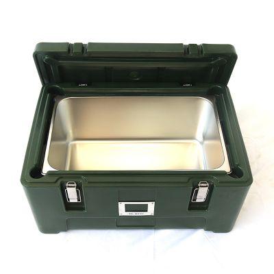 供应滚塑份盘箱 饭菜保温周转份盘箱 学校食堂外送食品保温周转箱厂家