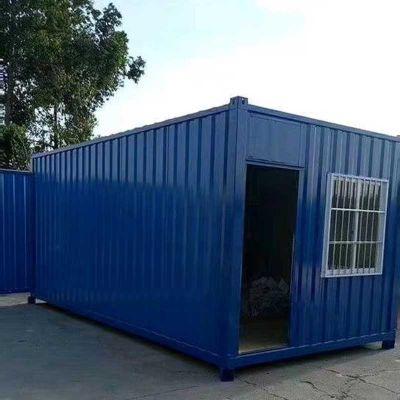 太方住人集装箱道路铁路建筑临时移动板房