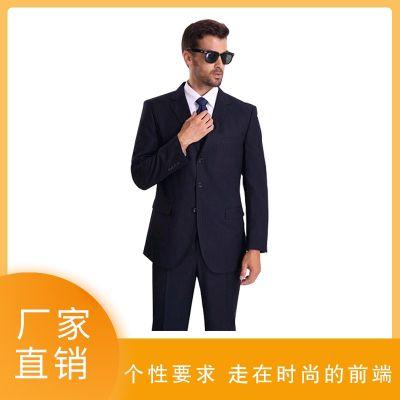 经典男式羊毛商务职业套装定做 西服衬衫套装 茶山天歌服饰订做