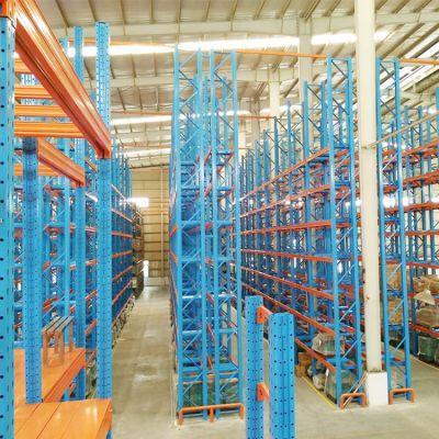 东莞创力重型仓储仓库货架横梁式托盘式库房大型承重货架定制