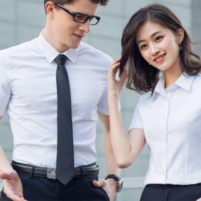 短袖衬衫/白色6230