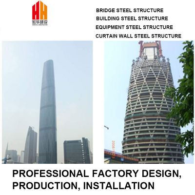High-rise building steel structure