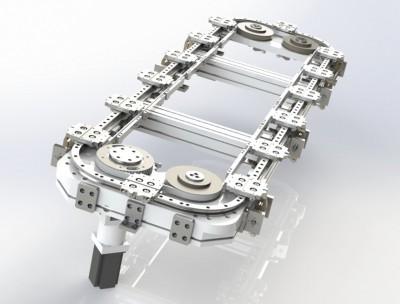 今典供应环型导轨静音连接杆圆弧200链条传动价格优惠精品定制