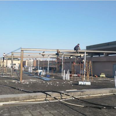 东莞钢结构厂房施工