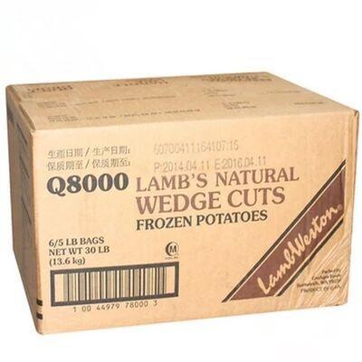 蓝威斯顿原味带皮薯角Q80