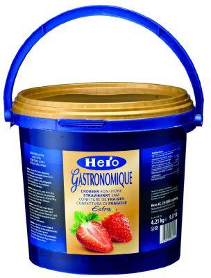 英雄草莓果酱4.25kg