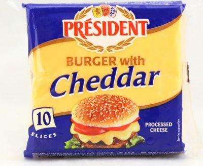 总统汉堡芝士片200g(10片)