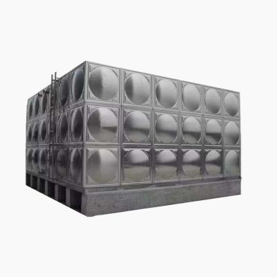 研发不锈钢方形水箱 水处理设备保温水箱 不锈钢消防水箱定制