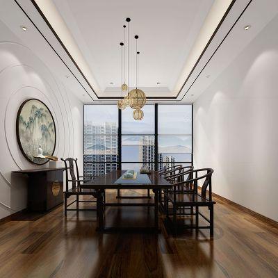 东莞办公室装修设计_装修工程公司_高档办公室装修设计