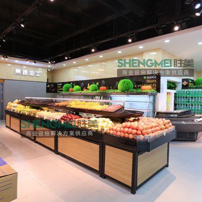 蔬果架 超市单层蔬果架
