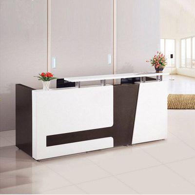 现代简约前台柜 简约办公柜 小型接待台 柜台