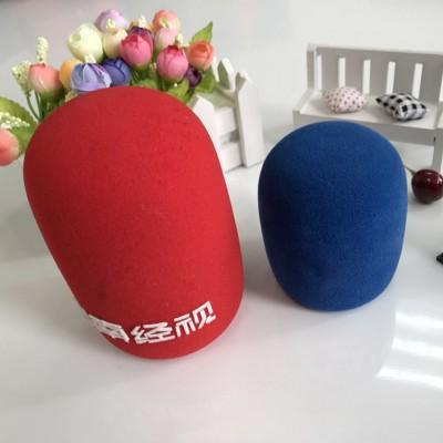 加厚话筒套海绵套家用KTV麦克风罩源头定制厂家