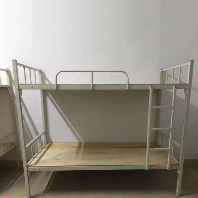 厂家直销员工宿舍上下铺铁架床 学生公寓铁床 工地双层铁床