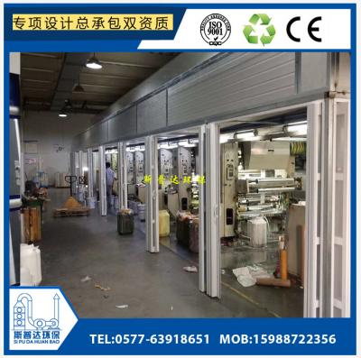 温州饲料厂鱼粉厂废气臭气异味收集处理环保全套设备